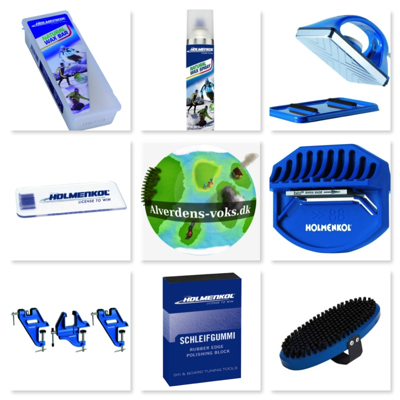 Produkter til klargøring af ski