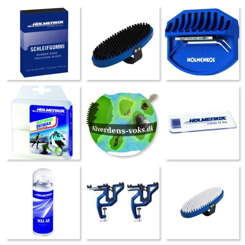 Produkter til klargøring af snowboard
